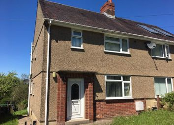 Thumbnail 2 bed semi-detached house to rent in Derwydd Avenue, Gwaun Cae Gurwen, Ammanford