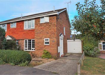 Thumbnail 3 bedroom semi-detached house to rent in Staple Drive, Tonbridge