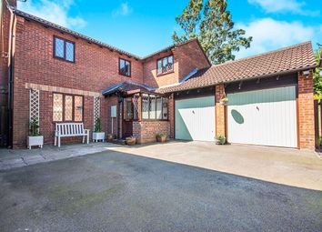 Thumbnail 4 bed detached house for sale in Stoneley Road, Stoke Golding, Nuneaton
