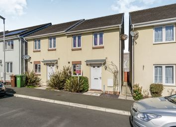Thumbnail 2 bed semi-detached house for sale in Bridge View, Plymouth