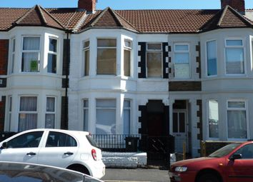 Thumbnail 5 bedroom end terrace house for sale in Dogfield Street, Cardiff