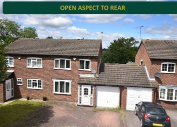 Thumbnail 3 bed semi-detached house for sale in Wheatland Close, Oadby, Leicester