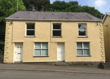 Thumbnail 1 bed flat to rent in Station Road, Tirydail, Ammanford
