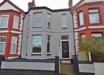 Thumbnail 4 bed terraced house for sale in Beech Road, Birkenhead, Merseyside
