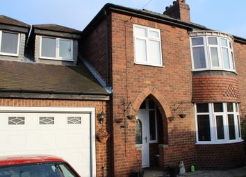 Thumbnail 4 bed semi-detached house for sale in Womersley Road, Pontefract
