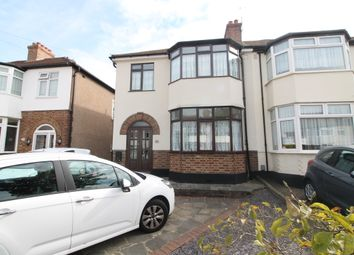 Thumbnail 3 bed semi-detached house for sale in Montrose Avenue, Gidea Park, Essex