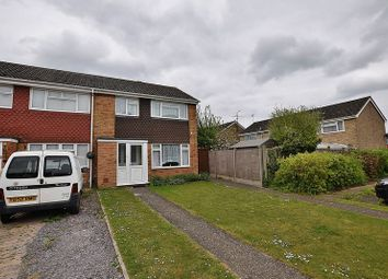 Thumbnail 3 bed end terrace house for sale in Palma Close, Dunstable