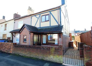 Thumbnail 2 bedroom semi-detached house for sale in Winding Road, Ball Green, Staffordshire