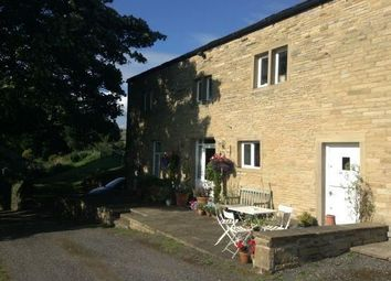 Thumbnail 4 bed barn conversion to rent in The Old Barn, Riding Head Lane, Luddenden, Halifax, West Yorkshire