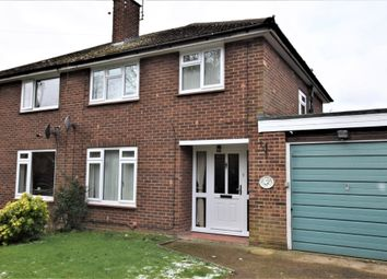 Thumbnail 3 bed semi-detached house for sale in Glebe Road, Farnborough