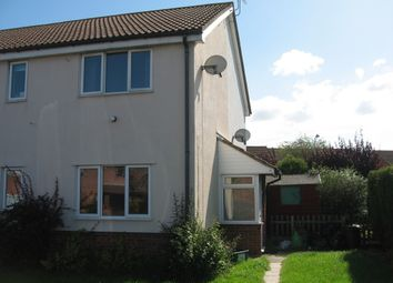 Thumbnail 1 bed semi-detached house to rent in Saxby Close, Weston Super Mare