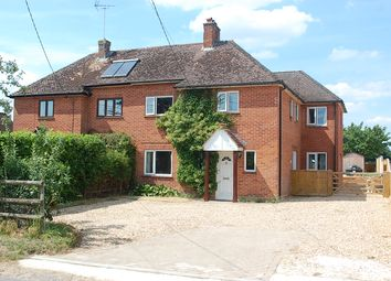 Thumbnail 4 bed semi-detached house for sale in Church Lane, Goodworth Clatford, Andover
