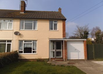 Thumbnail 3 bed semi-detached house to rent in Hazelwood Road, Melksham