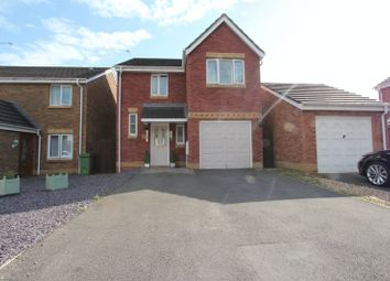 Thumbnail 3 bedroom detached house for sale in Maes Lindys, Rhoose, Barry