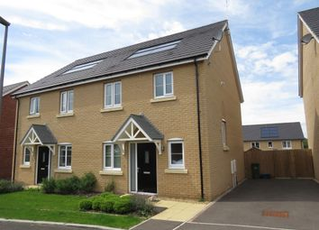 Thumbnail 3 bedroom semi-detached house for sale in Holmes Meadow, Redhouse Park, Milton Keynes