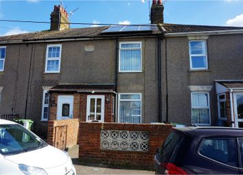 Thumbnail 3 bed terraced house for sale in Seaview Terrace, Lower Halstow