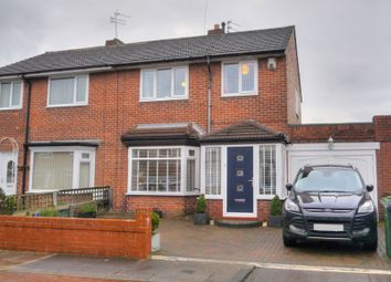 Thumbnail 3 bed semi-detached house for sale in Moorland Villas, Bedlington