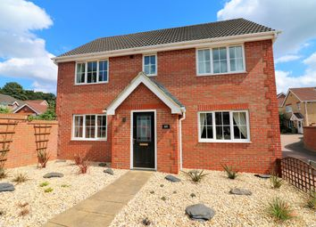 Thumbnail 4 bed detached house for sale in Wavell Road, Dereham