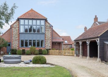 Thumbnail 5 bed barn conversion for sale in Creake Road, Sculthorpe, Fakenham