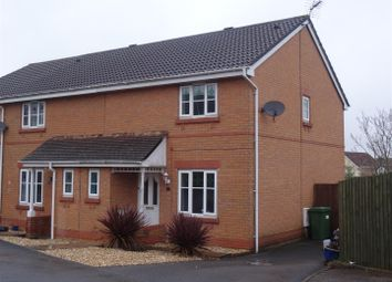 Thumbnail 3 bedroom semi-detached house to rent in Maes Y Wennol, Miskin, Pontyclun