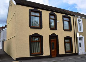Thumbnail 3 bed end terrace house for sale in David Street, Cwmbwrla, Swansea