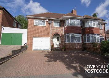 Thumbnail 5 bed semi-detached house for sale in Ireton Road, Handsworth Wood, Birmingham