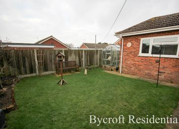 Thumbnail 3 bed detached bungalow for sale in Breydon Way, Caister-On-Sea, Great Yarmouth