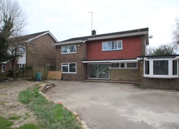Thumbnail 4 bed detached house to rent in Milton Mount Avenue, Crawley
