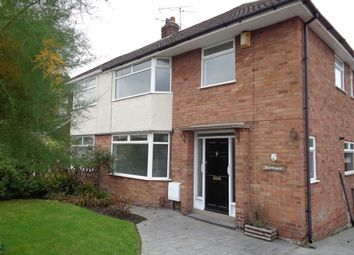 Thumbnail 3 bed semi-detached house to rent in Langdale Road, Woodley, Stockport