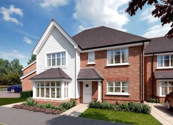 Thumbnail 4 bed detached house for sale in Worthing Road, Southwater