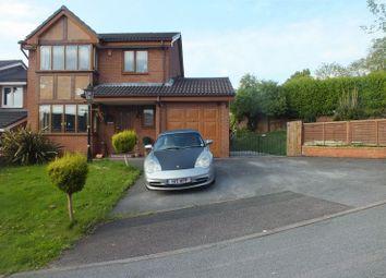 Thumbnail 4 bedroom detached house for sale in Landrake Grove, Packmoor, Stoke-On-Trent