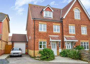 Thumbnail 4 bed town house for sale in Albacore Close, Lee-On-The-Solent