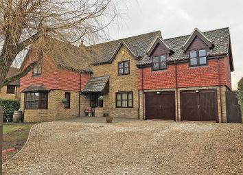 Thumbnail 5 bed detached house for sale in Low Road, Little Stukeley, Huntingdon
