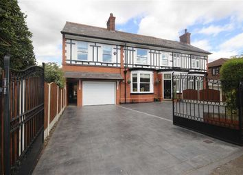 Thumbnail 6 bed semi-detached house for sale in Broadoak Road, Worsley, Manchester