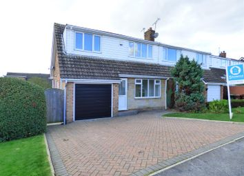Thumbnail 3 bed semi-detached house for sale in Larks Hill, Pontefract