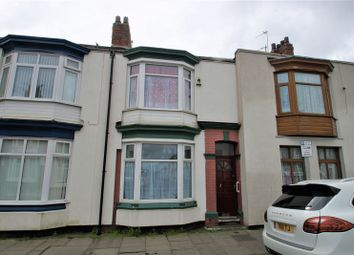 Thumbnail 3 bed terraced house for sale in Clifton Street, Middlesbrough