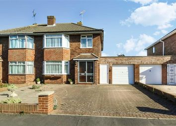 Thumbnail 3 bed semi-detached house for sale in Tudor Crescent, Stratton, Swindon