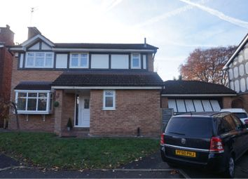 Thumbnail 4 bed detached house for sale in Hendham Drive, Altrincham