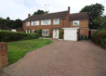 Thumbnail 4 bed semi-detached house for sale in Pine Wood, Sunbury-On-Thames