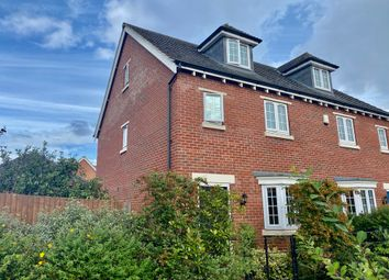 Thumbnail 3 bed semi-detached house for sale in Flint Lane, Barrow Upon Soar, Leicester LE12 8Gs