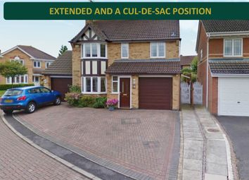 Thumbnail 4 bed detached house for sale in Petunia Close, Leicester Forest East, Leicester