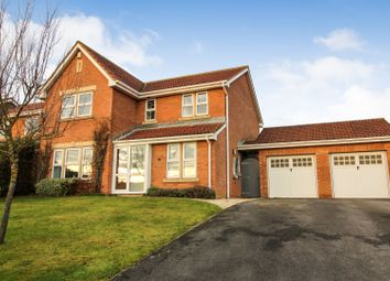Thumbnail 4 bed detached house for sale in Nightingale Close, Hartlepool
