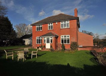 Thumbnail 4 bed detached house for sale in Cogshall Lane, Northwich, Cheshire