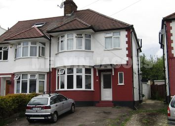 Thumbnail 3 bed semi-detached house to rent in Brook Avenue, Edgware, Greater London.