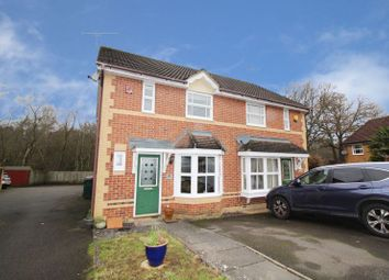 Thumbnail 2 bed semi-detached house for sale in Beckford Way, Maidenbower, Crawley