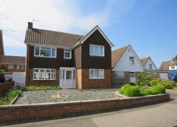 Thumbnail 3 bed detached house for sale in Finch Close, Western Park, Leicester