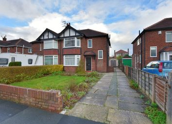 Thumbnail 3 bed semi-detached house to rent in Cavendish Road, Hazel Grove, Stockport, Cheshire