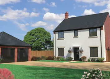 Thumbnail 4 bedroom detached house for sale in Church Lane, Saxilby