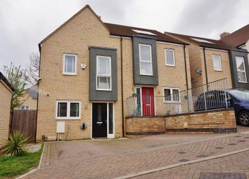 Thumbnail 2 bed semi-detached house for sale in Powell Drive, Chingford, London