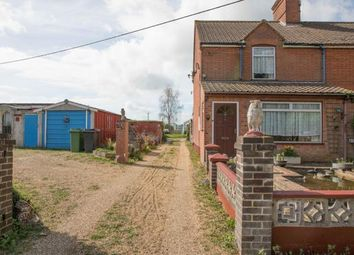 Thumbnail 2 bed end terrace house for sale in Verdons Lane, Silfield, Wymondham